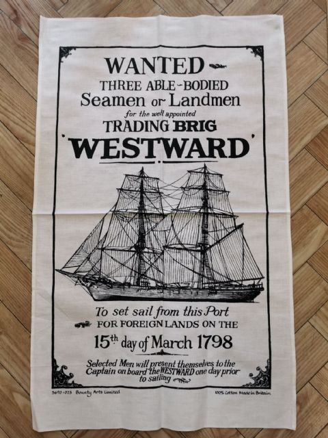 Westward Tea Towel